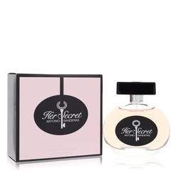 Her Secret Perfume by Antonio Banderas 2.7 oz Eau De Toilette Spray