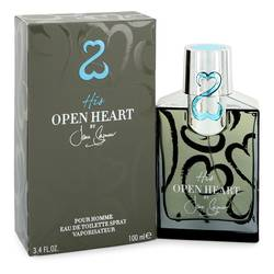 His Open Heart Cologne by Jane Seymour 3.4 oz Eau De Toilette Spray