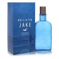 Hollister Jake Blue Cologne by Hollister, 3.4 oz Eau De Cologne Spray for Men