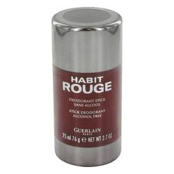 Habit Rouge Cologne by Guerlain 2.5 oz Deodorant Stick