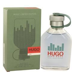 Hugo Cologne by Hugo Boss 4.2 oz Eau De Toilette Spray (Limited Edition Music Bottle)