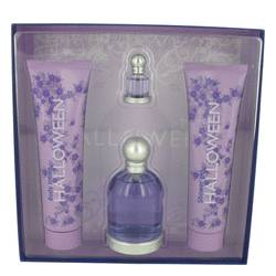 Halloween Perfume by Jesus Del Pozo -- Gift Set - 3.4 oz Eau De Toilette Spray + 5 oz Body Lotion + 5 oz Shower Gel + .15 oz Mini EDT