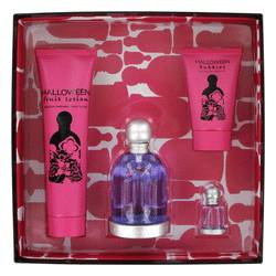 Halloween Perfume by Jesus Del Pozo -- Gift Set - 3.4 oz Eau De Toilette Spray + 5 oz Body Lotion + 1.7 oz Shower Gel + .15 oz Mini EDT