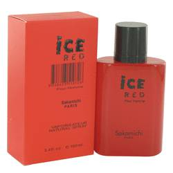 Ice Red Cologne by Sakamichi 3.4 oz Eau De Parfum Spray