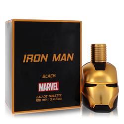 Iron Man Black Cologne by Marvel 3.4 oz Eau De Toilette Spray