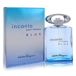 Incanto Blue Cologne by Salvatore Ferragamo 3.4 oz Eau De Toilette Spray