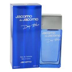 Jacomo Deep Blue Cologne by Jacomo 3.4 oz Eau De Toilette Spray