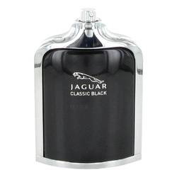 Jaguar Classic Black Cologne by Jaguar 3.4 oz Eau De Toilette Spray (Tester)