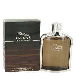 Jaguar Classic Amber Cologne by Jaguar 3.4 oz Eau De Toilette Spray