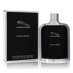 Jaguar Classic Black Cologne by Jaguar 3.4 oz Eau De Toilette Spray