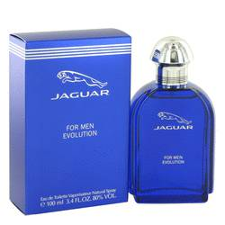 Jaguar Evolution Cologne by Jaguar 3.4 oz Eau De Toilette Spray