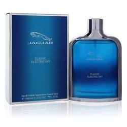 Jaguar Classic Electric Sky Cologne by Jaguar 3.4 oz Eau De Toilette Spray