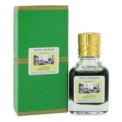 Jannet El Firdaus Cologne by Swiss Arabian 0.3 oz Concentrated Perfume Oil Free From Alcohol (Unisex Green Attar)