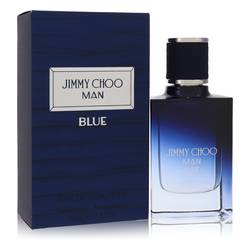Jimmy Choo Man Blue Cologne by Jimmy Choo 1 oz Eau De Toilette Spray