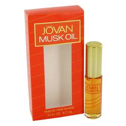 Jovan Musk Perfume by Jovan 0.33 oz Oil with Applicator