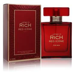 Johan B Rich Red Icone Cologne by Johan B 3 oz Eau De Toilette Spray