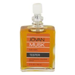 Jovan Musk Cologne by Jovan 2 oz After Shave/Cologne Spray (Tester)