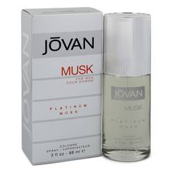 Jovan Platinum Musk Cologne by Jovan 3 oz Cologne Spray