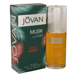 Jovan Tropical Musk Cologne by Jovan 3 oz Cologne Spray