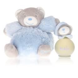 Kaloo Blue Cologne by Kaloo 3.2 oz Eau De Senteur Spray  + Free Fluffy Bear(Alcohol Free unboxed)