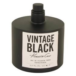 Kenneth Cole Vintage Black Cologne by Kenneth Cole 3.4 oz Eau De Toilette Spray (Tester)
