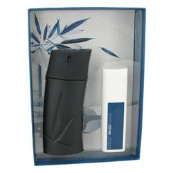 Kenzo Cologne by Kenzo -- Gift Set - 3.4 oz Eau De Toilette Spray + 3.4 oz Shower Gel