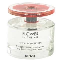 Kenzo Flower In The Air Floral D'exception Perfume by Kenzo 3.4 oz Eau De Parfum Spray (Tester)