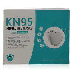 Kn95 Mask Perfume by KN95 1 size Thirty  KN95 Masks, Adjustable Nose Clip, Soft non-woven fabric, FDA and CE Approved (Unisex)(30 slightly damaged)