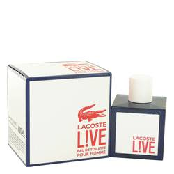 Lacoste Live Cologne by Lacoste 3.4 oz Eau De Toilette Spray
