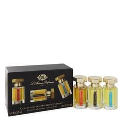 L'eau D'ambre Extreme Perfume by L'Artisan Parfumeur -- Gift Set - Deluxe Mini Travel Set includes L'eau D'Ambre Extreme, Mon Numero 10 and Timbuktu