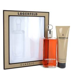 Lagerfeld Cologne by Karl Lagerfeld -- Gift Set - 5 oz Eau De Toilette pray + 5 oz Shower Gel