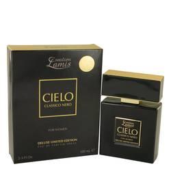 Lamis Cielo Classico Nero Perfume by Lamis 3.3 oz Eau De Parfum Spray Deluxe Limited Edition