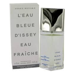 L'eau Bleue D'issey Pour Homme Cologne by Issey Miyake 2.5 oz Eau De Fraiche Toilette Spray (Tester)