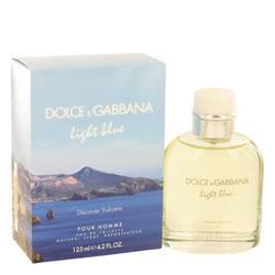 Light Blue Discover Vulcano Cologne by Dolce & Gabbana 4.2 oz Eau De Toilette Spray