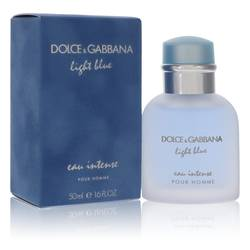 Light Blue Eau Intense Cologne by Dolce & Gabbana 1.7 oz Eau De Parfum Spray