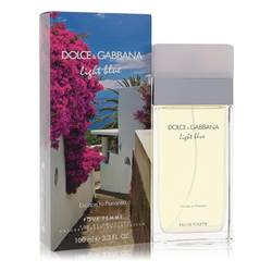 Light Blue Escape To Panarea Perfume by Dolce & Gabbana 3.3 oz Eau De Toilette Spray