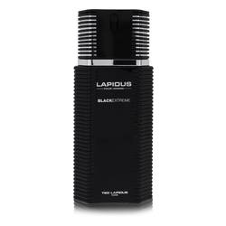 Lapidus Black Extreme Cologne by Ted Lapidus 3.4 oz Eau De Toilette Spray (Tester)