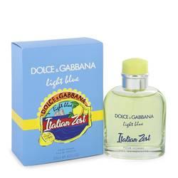 Light Blue Italian Zest Cologne by Dolce & Gabbana 4.2 oz Eau De Toilette Spray