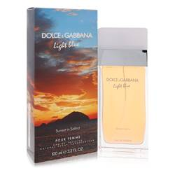Light Blue Sunset In Salina Perfume by Dolce & Gabbana 3.4 oz Eau De Toilette Spray