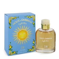 Light Blue Sun Cologne by Dolce & Gabbana 4.2 oz Eau De Toilette Spray