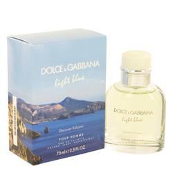 Light Blue Discover Vulcano Cologne by Dolce & Gabbana 2.5 oz Eau De Toilette Spray