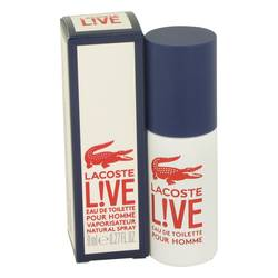 Lacoste Live Cologne by Lacoste 0.27 oz Mini EDT Spray