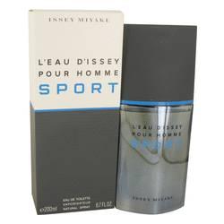 L'eau D'issey Pour Homme Sport Cologne by Issey Miyake 6.7 oz Eau De Toilette Spray
