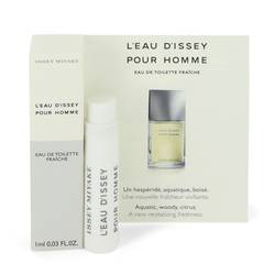 L'eau D'issey (issey Miyake) Cologne by Issey Miyake 0.03 oz Vial Spray (Sample)