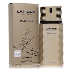 Lapidus Gold Extreme Cologne by Ted Lapidus 3.4 oz Eau De Toilette Spray