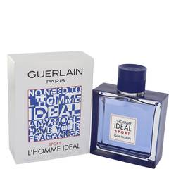 L'homme Ideal Sport Cologne by Guerlain 3.3 oz Eau De Toilette Spray