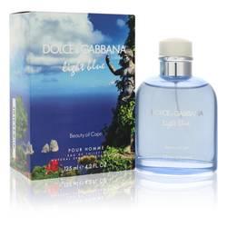 Light Blue Beauty Of Capri Cologne by Dolce & Gabbana 4.2 oz Eau De Toilette Spray