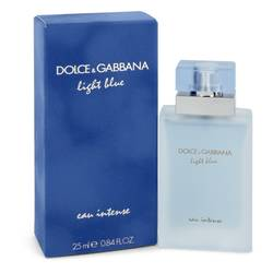Light Blue Eau Intense Perfume by Dolce & Gabbana 0.84 oz Eau De Parfum Spray