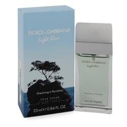 Light Blue Dreaming In Portofino Perfume by Dolce & Gabbana 0.84 oz Eau De Toilette Spray