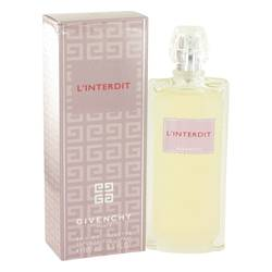 L'interdit Perfume by Givenchy 3.3 oz Eau De Toilette Spray (New Packaging)